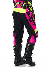 womens motocross jerseys oneal pink yellow 2017 element racewear womens mx pant oneal