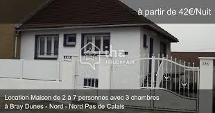 location maison nord particulier 3 chambres location maison à bray dunes de 2 à 7 personnes iha 10408