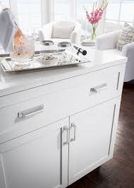 kitchen cabinets with cup pulls top knobs introduces barrington collection drawers hardware