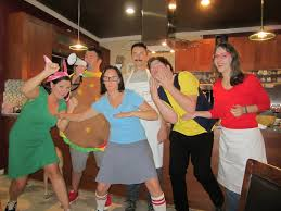 our 6 person bob u0027s burgers costume for halloween my friends and i