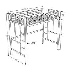 Metal Loft Bed With Desk Full Size Of Bunk Bedsloft Bed With Desk - Metal bunk bed with desk