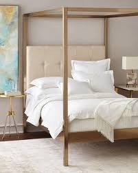 Metal Frame Headboards by Frame Cream Linen Headboard Canopy Bed