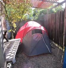 Tent In Backyard by Are These The World U0027s Worst Rental Flats Daily Mail Online