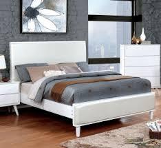 Eastern King Bed Furniture Of America Braunfels Eastern King Bed In Black Gold