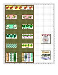 simple foot step backyard vegetable garden layout plans and