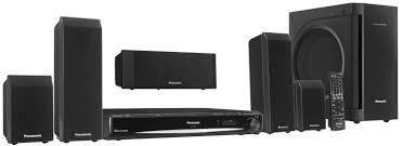 panasonic home theater receiver amazon com panasonic sc pt660 5 dvd home theater system electronics