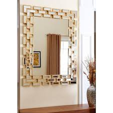 Rectangle Bathroom Mirrors Abbyson Living Rectangle Silver Wall Mirror