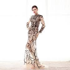 abendkleid designer großhandel 100 real model fotos rote sequins lange ärmel