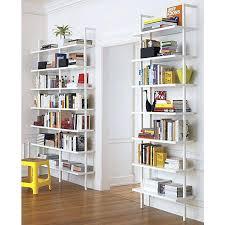 bookcase white shallow bookcase shallow white shelves tall