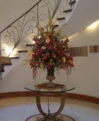 home decor flower arrangements silk arrangements for home decor