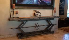 sofa industrial sofa table diy industrial sofa back table