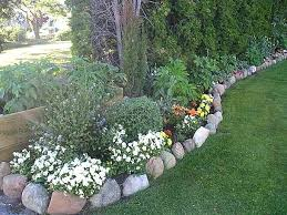 Rock Garden Beds Landscaping Rocks For Flower Beds The Rock Flower Bed Border