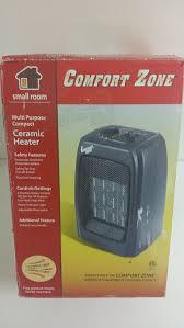 amazon com comfort zone multi purpose ceramic heater black