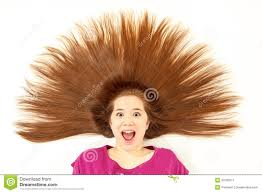 spiky hair for long hair for women over 40 girl with spiked hair stock image image of brown hair 30790311