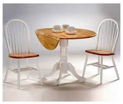round dual drop leaf dining table round drop leaf pedestal dining table 3 pc dual dinette chair set