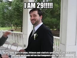 29th Birthday Meme - birthday