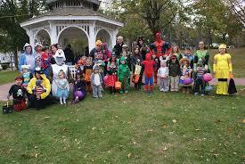 halloween in pawtuxet village rhodybeat