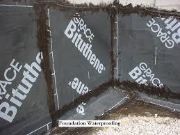 finest basement waterproofing materials exterior foundation