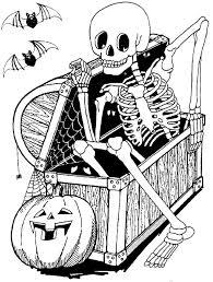 Dessin Halloween Qui Fait Peur  Dessinsite