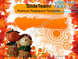 happy thanksgiving autumn festival powerpoint templates ppt themes