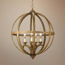 Chandelier Company Currey And Company Axel Orb 5 Light 32