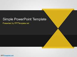 free simple ppt template