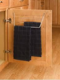 amazon com decko 38190 swing arm kitchen towel rack chrome