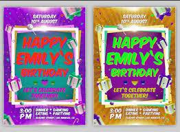 45 free birthday invite templates in psd free psd templates