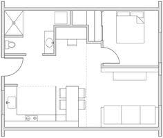 House Plans Under 800 Square Feet by 400 Square Foot Cabin 700 Square Foot One Bedroom Apartment