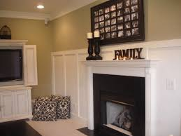 Tiled Fireplace Wall by The Yellow Cape Cod 31 Days Of Character Building Builder