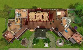 Floor Plans Of Tv Show Houses Salvatore House Plan Mod The Sims Glenridge Hall The U003cb