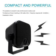 heavy duty speaker wall mounts aliexpress com buy waterproof box speakers marine stereo speaker