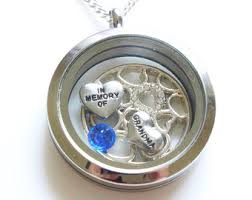 in loving memory lockets memory necklace etsy
