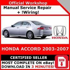 honda car manual honda car service repair manuals ebay