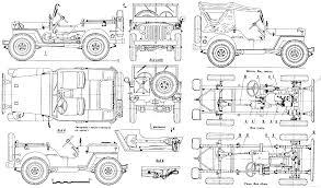 willys mb blueprints blueprint pinterest willys mb jeeps