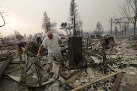 Wildfire Anaheim by Sonoma County Struggles With Wildfire Damage U0026 Confusion