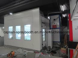 spray paint booth china low price car spray paint booth with ce certificate photos