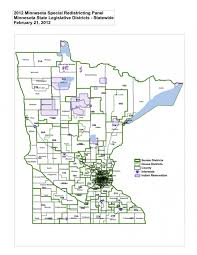 Minnesota State Map Minnesota Court Issues Redistricting Maps The Uptake