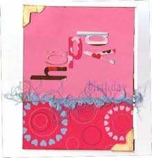 handmade birthday card idea two scrapbooking families com