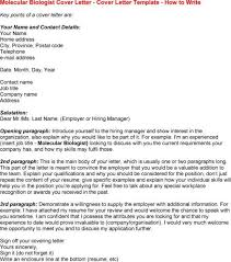 bioinformatics analyst cover letter