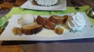 cerf cuisine clafoutis aux mirabelles fait maison picture of restaurant au