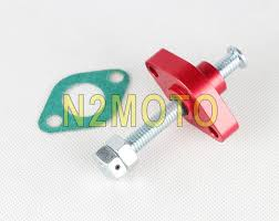 aliexpress com buy cnc aluminum manual cam chain tensioner for