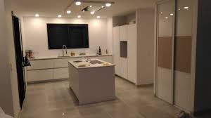 cuisine blanc mat cuisine blanc mat avec plan en dekton aura projet golf i