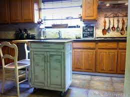 made to love distressed kitchen island