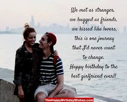 birthday wishes for girlfriend 30 romantic card messages