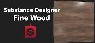 substance designer luxury wood tutorial youtube