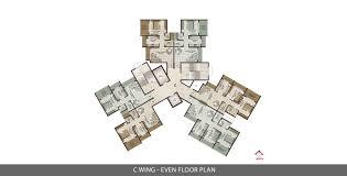 zenith floor plan orchid woods khopoli 1 1 5 2 bhk flats apartments in khopoli