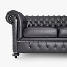 Chesterfield Black Sofa 3d William Chesterfield Sofa Cgtrader