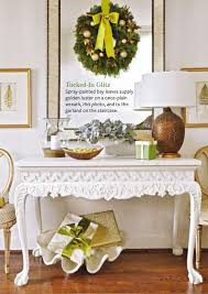 festive flourishes in better homes and gardens u201cchristmas ideas