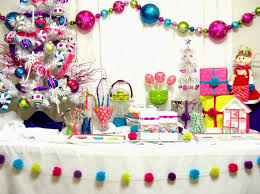 Bright Christmas Decorations Cupcake Wishes U0026 Birthday Dreams Party Styled Merry U0026 Bright